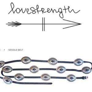 Love Is Strength Belt